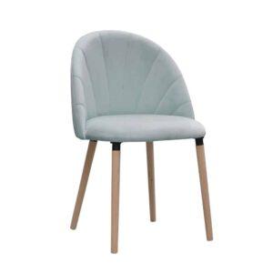 Krzesło Ariana, french velvet 679, surowe (2)
