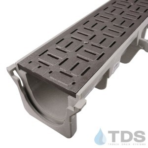 NDS-Dura-XX-604-TDSdrains deco cast iron brick grate HPDE channel NDS