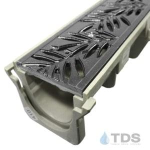 NDS-Dura-XX-Loc-DK cast iron deco grate hpde channel