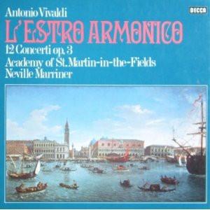 Antonio Vivaldi – The Academy Of St. Martin-in-the-Fields, Sir Neville Marriner - L'Estro Armonico - 12 Concerti Op.3 (2xLP + Box)