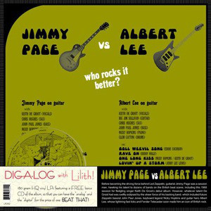Jimmy Page Vs Albert Lee - Who Rocks It Better? (LP, 180 + CD)