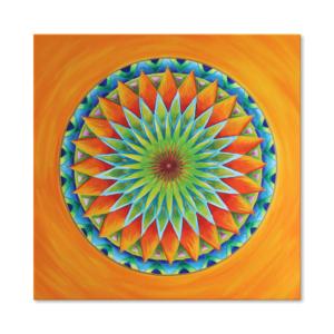 Wandbild Mandala