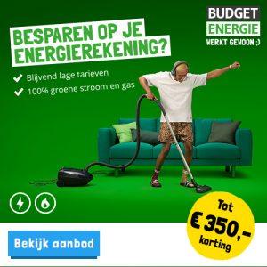 Budget energie energie besparen