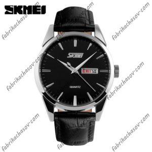 Классические часы Skmei 9073 черные