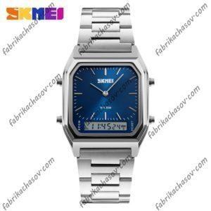 Часы Skmei 1220 Стальные синие