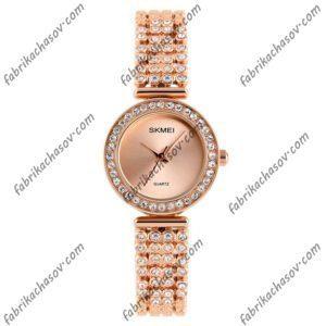 Часы Skmei 1224 золотые женские