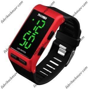 Часы Skmei 1364 красные спортивные