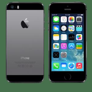 iPhone 5S v černém