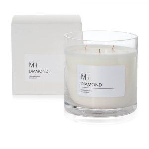 luxury diamond candle