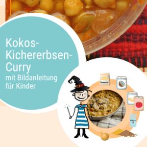 Rezept Kokos-Kichererbsen-Curry