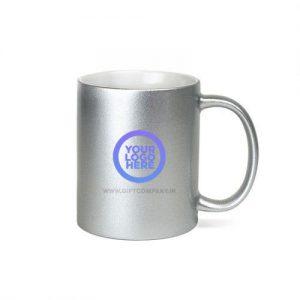 Silver Coffee Mug