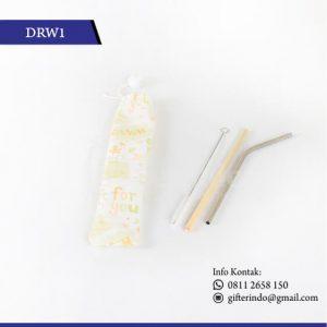 DRW1 Drinkware Sedotan Stenlis