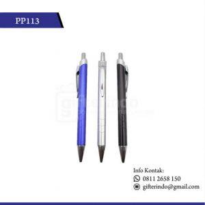 PP113 Pulpen Promosi Plastik