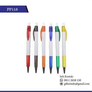 PP116 Pulpen Promosi Plastik