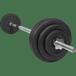 Vektsett - 25 mm - Helstøpte vektskiver - 60 kg - Økonomi