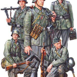 Tamiya German Infantry Set Mid WWII