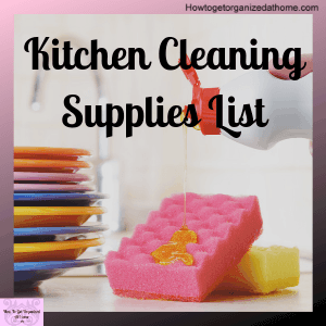 Don't get confused with what you need to clean your home, find what I use and why I use it to clean my kitchen.