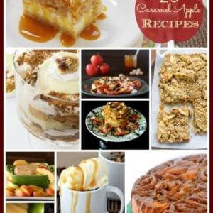 25 Indulgent Caramel Apple Recipes- Desserts, Drinks & More   1