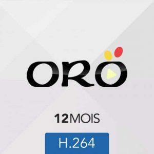 Abonnement ORO IPTV