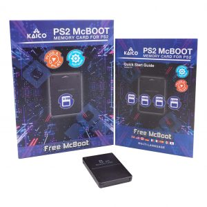 PlayStation 2 8MB Free McBoot 1.966 Memory Card