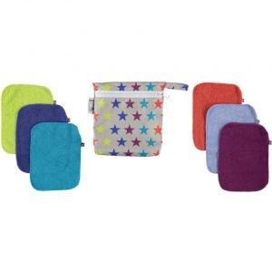 lingettes lavables avec pochettes