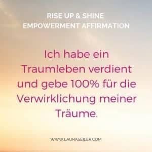 Laura Seiler Coaching Empowerment Affirmationen