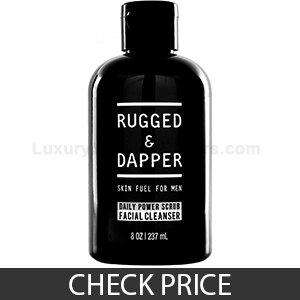 Rugged & Dapper Face Wash For Men - All Natural Ingredients