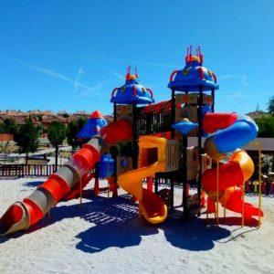 Parque de Exterior Serie Espacial en Ayuntamiento (Pozuelo del Rey)