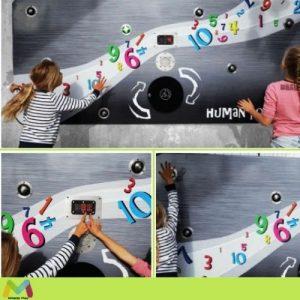 Elementos individuales en parques infantiles