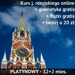kurs rosyjskiego online srebrny