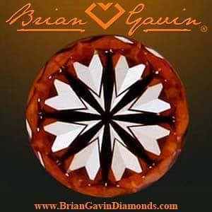 Brian Gavin Signature Hearts & Arrows Diamond, AGS #104063650004