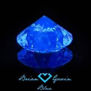 Diamond Grading Tutorial Medium Blue Fluorescence.