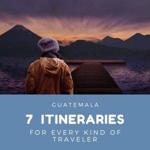 Guatemala itinerary