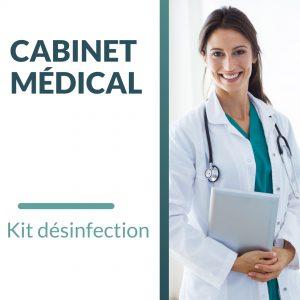 utilisation de l'ozone pour désinfecter les cabinets médicaux