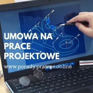umowa na prace projektowe