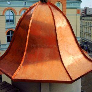 Elementy pokrycia dachu - pasy pokryciowe 1