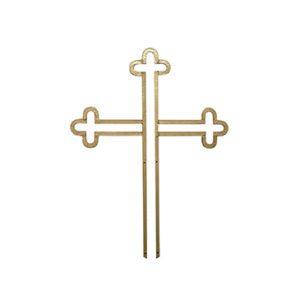 krzyż pozłacany