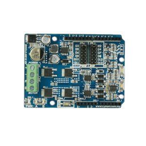 Cytron 10Amp 7V-30V DC Motor Driver Shield for Arduino-0