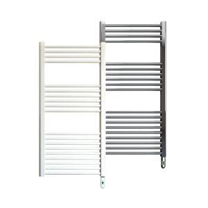 Rointe Elba Pro electric towel rail 500 W in white or chrome