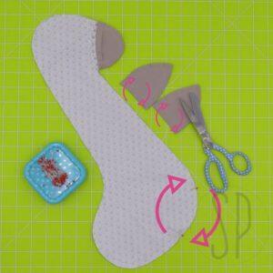 08 - come cucire la giraffa - i pupazzi di sara poiese