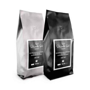 Das Premium Bohnen Probierpaket von Schwattes Gold