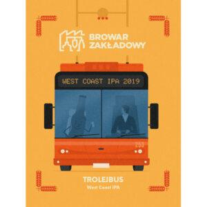 Browar Zakladowy trolejbus