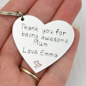 Stamped With Love - Awesome Mum Keyring