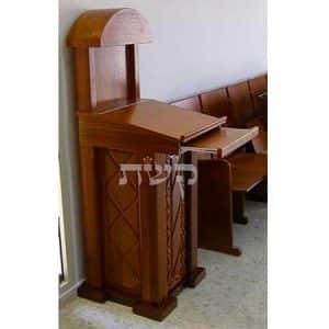 עמוד חזן בבית הכנסת בקרית ספר