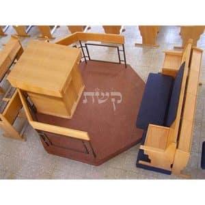 בימה ותיבה בבית הכנסת תפארת ישראל, רחובות