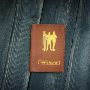 Обложка на паспорт с изображением