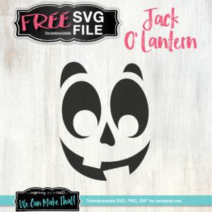 Jack O' Lantern FREE SVG