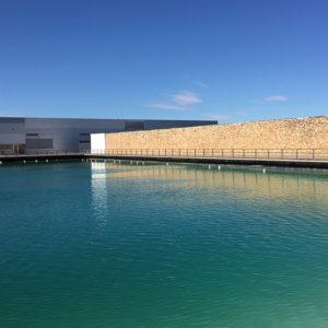 Bodega Finca Antigua Bewässerungsbecken