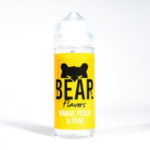 Mango, Peach & Pear BEAR Flavors 100ml