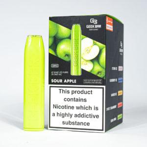 Eco Vape Wholesale Geek Bar Sour Apple Disposable Vape